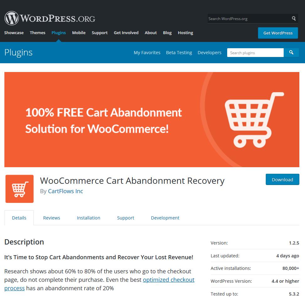 سبد خرید رها شده در ووکامرس